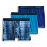 Men's Jockey 3-pack Active Microfiber Boxer Briefs