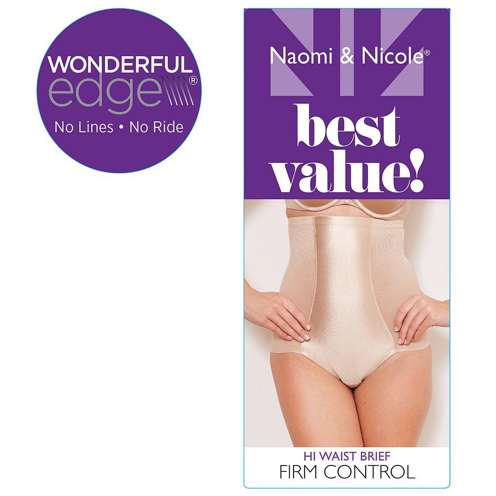 Naomi & Nicole Firm-Control High-Waist Shaping Brief 7125