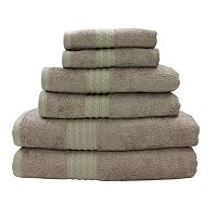 Pacific Coast Textiles 6-pack Bamboo Towel Set