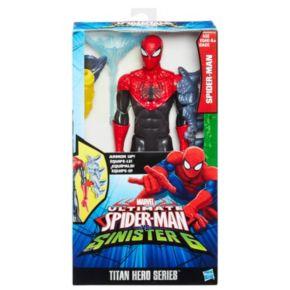 Marvel Ultimate Spider-Man vs. Sinister 6 Titan Hero Series Spider-Man Figure by Hasbro