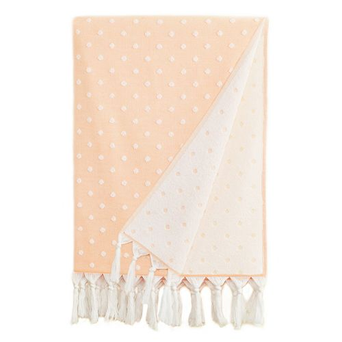 Linum Home Textiles Ephesus Polka Dot Pestemal Beach Towel
