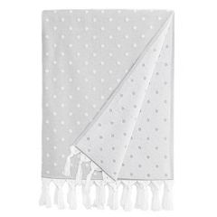 Linum Home Textiles Ephesus Polka Dot Pestemal Beach Towel