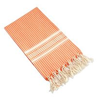 Linum Home Textiles Luxe Herringbone Pestemal Beach Towel