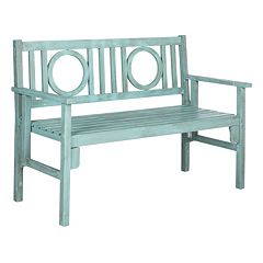 Safavieh Piedmont Patio Folding Bench