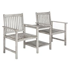 Safavieh Brea Twin Patio Seating Bench