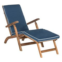 Safavieh Palmdale Brown Patio Lounge Chair
