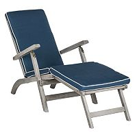 Safavieh Palmdale Gray Patio Lounge Chair