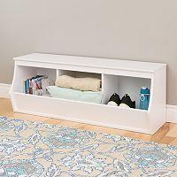 Prepac Monterey 3-Bin Cubby Storage