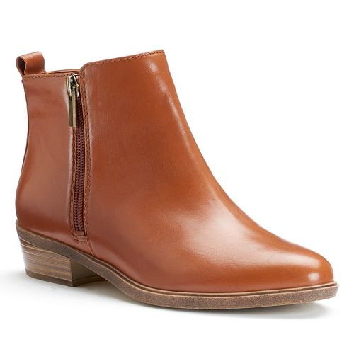 bc5f7ab0be32c Chaps Sabra Women's Zipper Ankle Boots