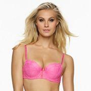 Jezebel Bra: Boudoir Lace Push-Up Bra 14021 - Women's