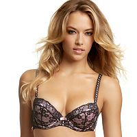 Jezebel Bra: Boudoir Lace Push-Up Bra 14021 - Women's
