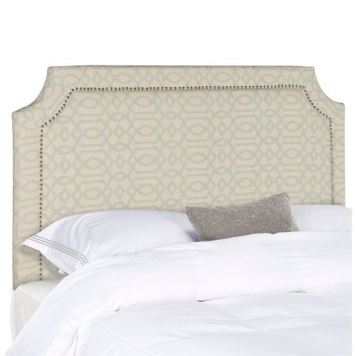 Safavieh Shayne Nailhead Full Headboard