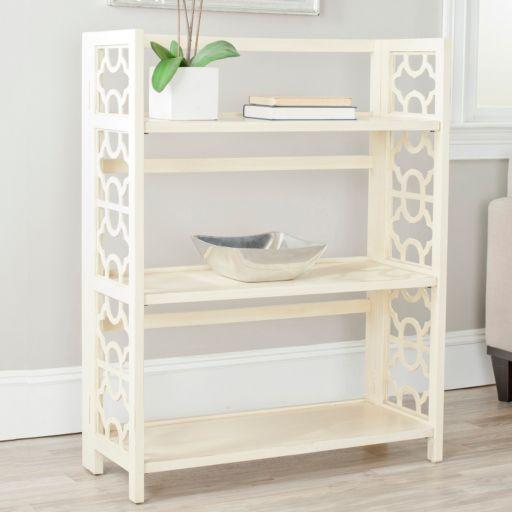 Safavieh Natalie 3-Shelf Low Bookshelf