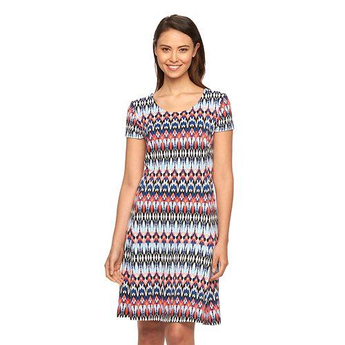 29b83557f51 Women s AB Studio Print Swing Dress
