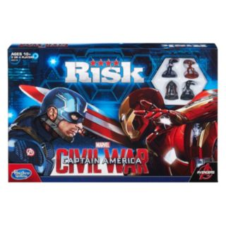 Risk: Captain America: Civil War Edition Game