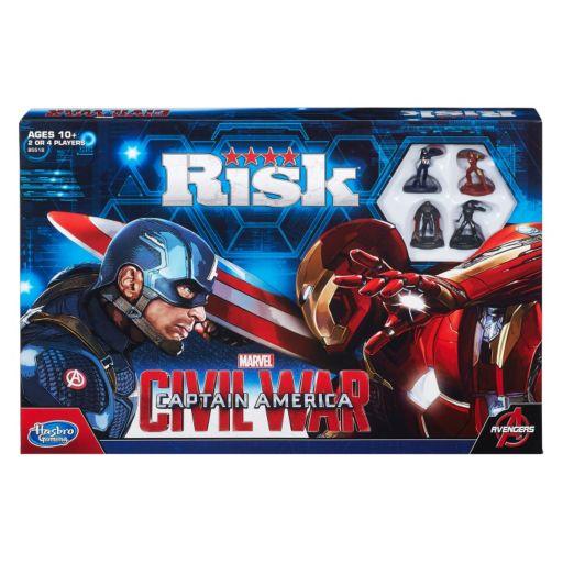 Risk: Captain America: Civil War Edition Game