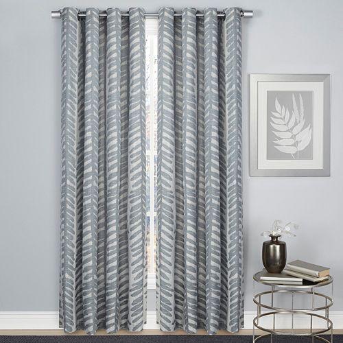 1888 Mills Palm Leaf Window Curtain