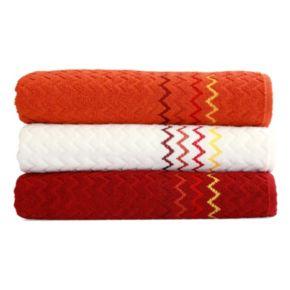 Linum Home Textiles Montauk 3-pack Bath Towels