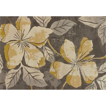 United Weavers Contours Floral Canvas Rug