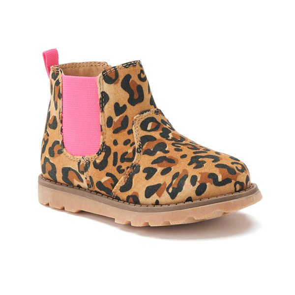 girls cheetah boots