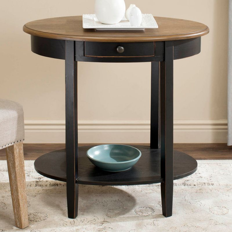 Safevieh Monica End Table, Black