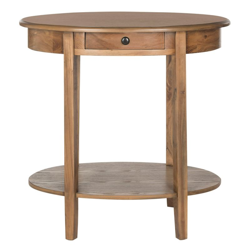 Safevieh Monica End Table, Brown