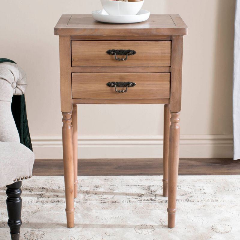 Safavieh Marilyn End Table, Natural