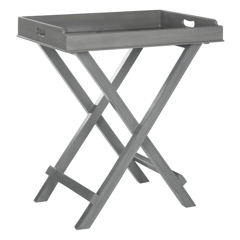 Safavieh Coleman Tray End Table, Grey
