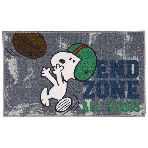 Peanuts Friends End Zone All Stars Rug - 18 x 30
