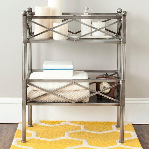 Safavieh Amese 2-Shelf Storage Stand