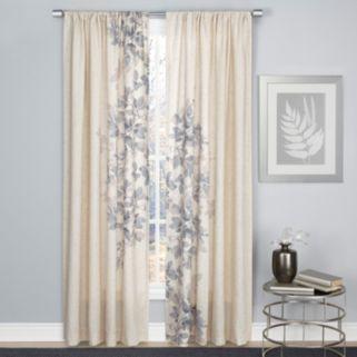 1888 Mills Hamilton Leaf Window Curtain
