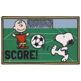 "Peanuts Friends ""Score!"" Rug - 18"" x 30"""