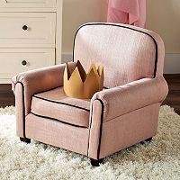 Kids Safavieh Tiny Tycoon Club Arm Chair