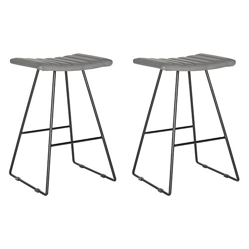 Safevieh Akito Counter Stool 2-piece Set