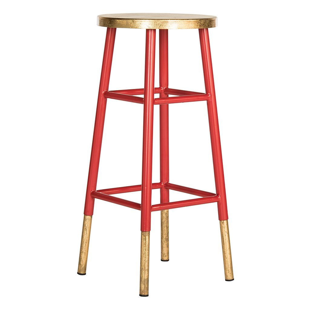 Safavieh Emery Metallic Bar Stool