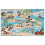 "Peanuts Friends Beach Rug - 39"" x 63"""