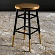 Safavieh Emery Metallic Counter Stool