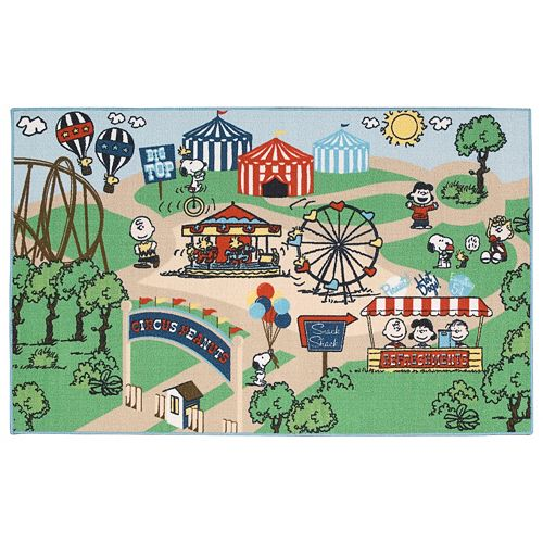 Peanuts Friends Circus Rug - 39