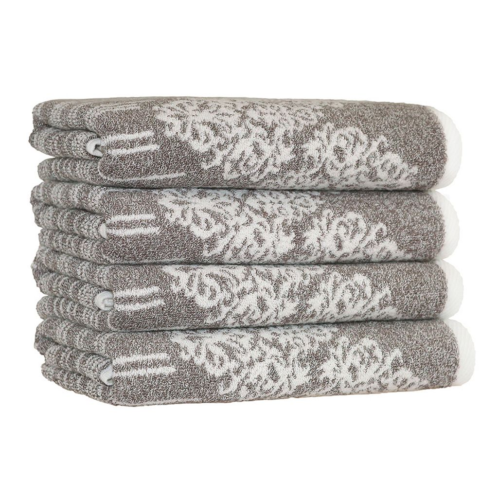 Linum Home Textiles Gioia 4-pack Hand Towels