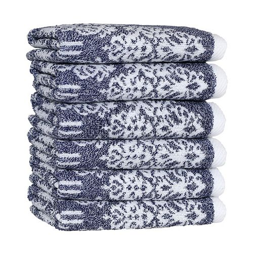 Linum Home Textiles Gioia 6-pack Washcloths