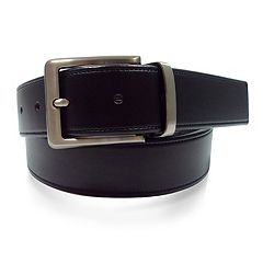 Men's Apt. 9® Reversible Cut-Edge Leather Belt