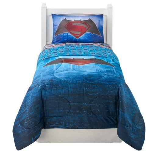 Batman vs. Superman World's Finest Bed Set