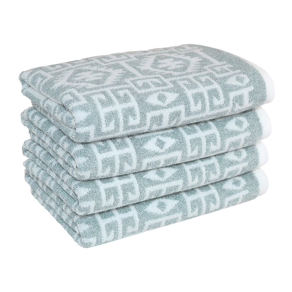 Linum Home Textiles Kula 4-pack Hand Towels