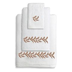 Linum Home Textiles Autumn Leaves 3-piece Towel Set