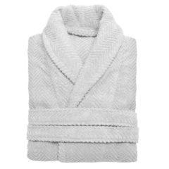 Linum Home Textiles Unisex Herringbone Weave Bathrobe