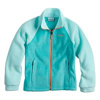 Baby Girl Columbia Three Lakes Fleece Jacket