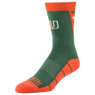 Men's Miami Hurricanes Energize Crew Socks