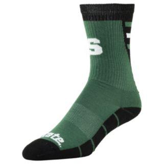 Men's Michigan State Spartans Energize Crew Socks