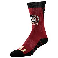 Men's Florida State Seminoles Energize Crew Socks