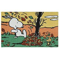 Peanuts Holiday Leaves Accent Rug - 20